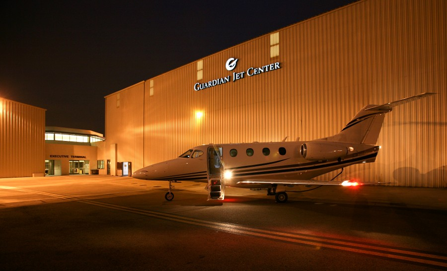 Guardian Jet Center Airplane