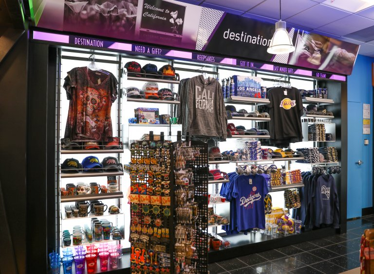 concession stand in ontario airport